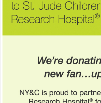 If you 'Like' us we'll donate $1 to St. Jude Children's Research Hospital! Go to Facebook!