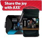 Share the joy with AXE