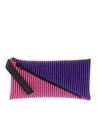 House Of Holland Stripe Clutch