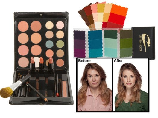 Jill Kirsh Color System Makeup Kit from Shopafrolic