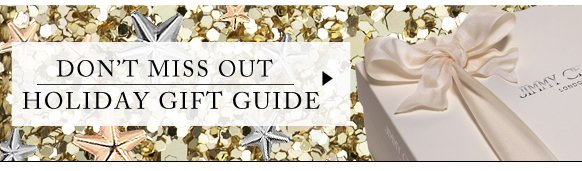 Don't miss out holiday gift guide