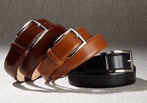 LEATHER BELTS, WALLETS & MORE