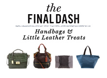 The Final Dash Handbags & Little Leather Treats