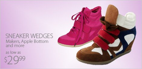 sneaker wedges-makers, apple bottom and more