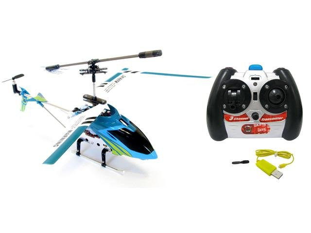 Iron Eagle RC Toy Helicopter (Blue or Purple)