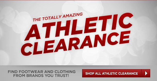 Shop All Athletic Clearance