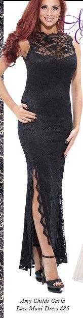 Amy Childs Carla Lace Maxi Dress