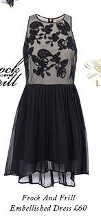 Frock And Frill Embellished Dress