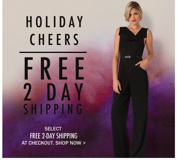 Free 2-Day Shipping, 48 Hours Only