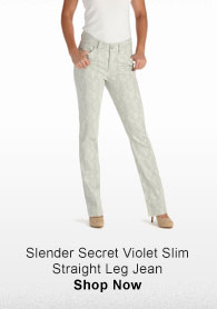 SLENDER SECRET VIOLET SLIM STRAIGHT LEG JEAN SHOP NOW