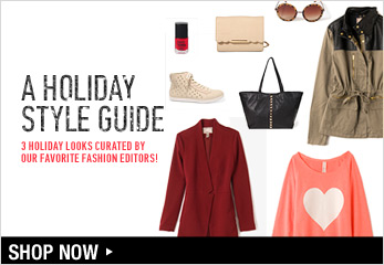 Holiday Style Guide - Shop Now