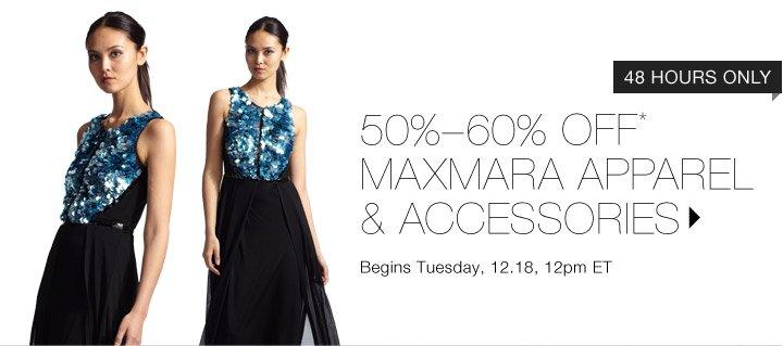 50%-60% OFF* MAXMARA APPAREL & ACCESSORIES