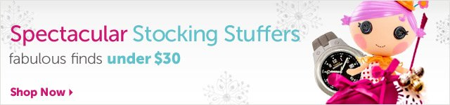 Spectacular Stocking Stuffers - fabulous finds under $30