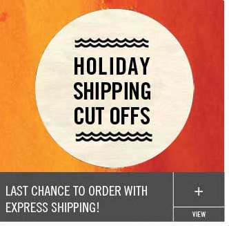 Last Chance to Order with Express Shipping