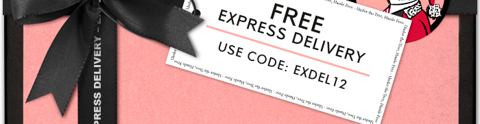 FREE EXPRESS DELIVERY - CODE: EXDEL12