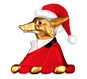 Mr.Fox has got his festive hat on