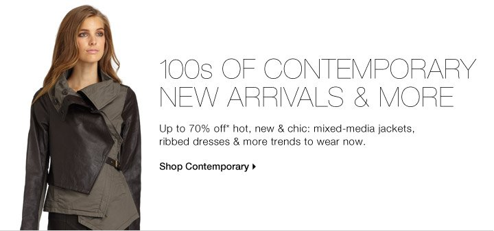 100s Of Contemporary New Arrivals