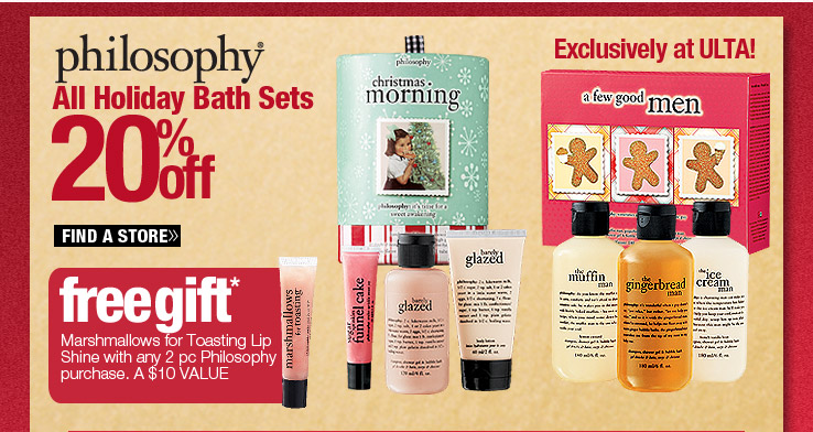 Philosophy Bath Sets