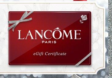 LANCÔME PARIS eGift Certificate