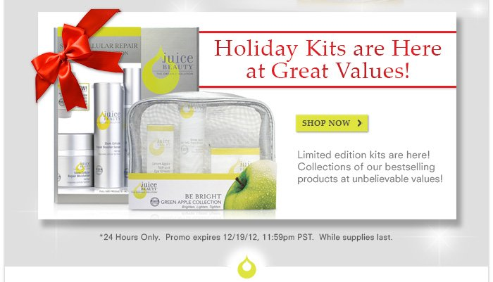Holiday Kits are Here at Great Values!