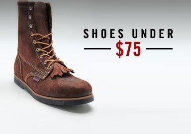 Shop Shoes Under $75