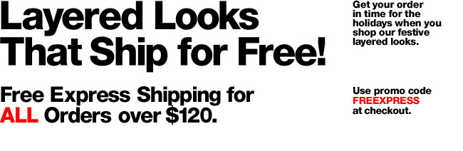 Outfits Ship for Free !