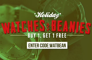 Watches and Beanies buy one get one