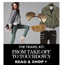THE TRAVEL KIT: From Take-Off To Touchdown READ & SHOP
