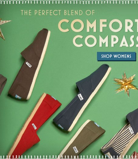 The perfect blend of comfort and compassion. Shop Women's.