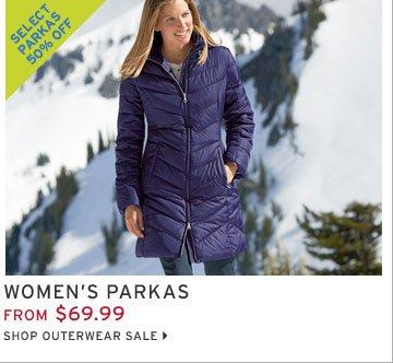 Shop Women's Parkas