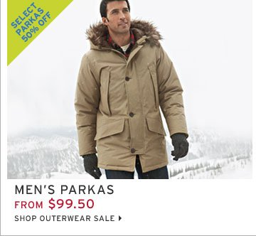 Shop Men's Parkas