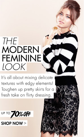 MODERN FEMININE LOOK