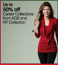 Up to 50% off Career Collections from AGB and NY Collection. Shop now.