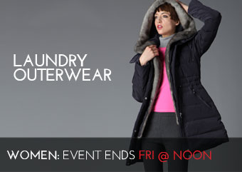 LAUNDRY OUTERWEAR