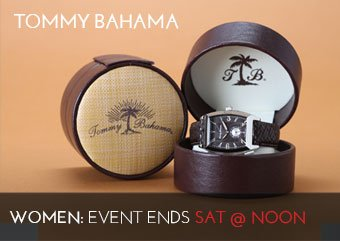 TOMMY BAHAMA WATCHES