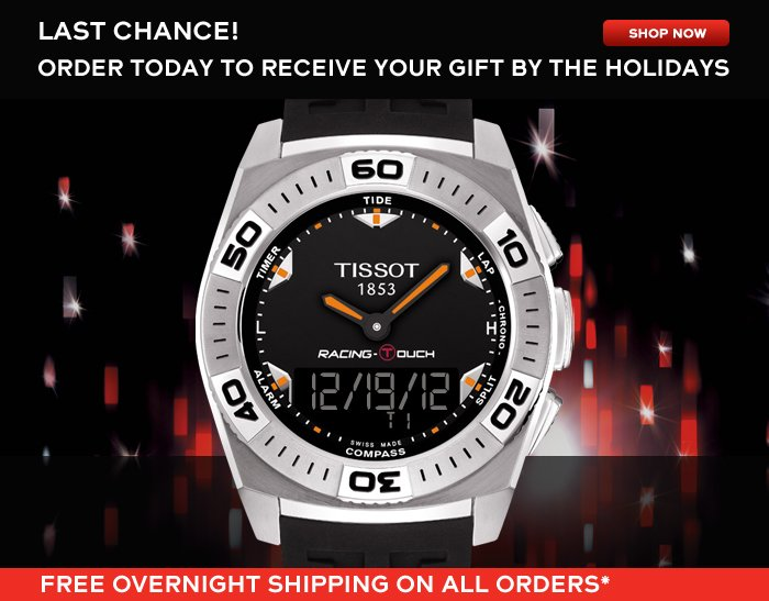 Last Chance! Order today to receive your gift by the holidays SHOP NOW
