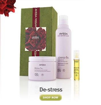 de-stress. shop now.