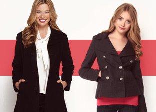 Coat Rack: Nine West, Calvin Klein, Ellen Tracy
