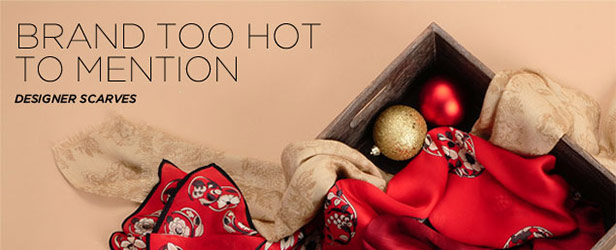 Brand Too Hot to Mention: Designer Scarves