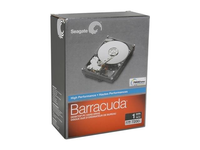 Seagate ST310005N1A1AS-RK 1TB 7200 RPM 32MB Cache SATA 6.0Gb/s 3.5 inch Internal Hard Drive