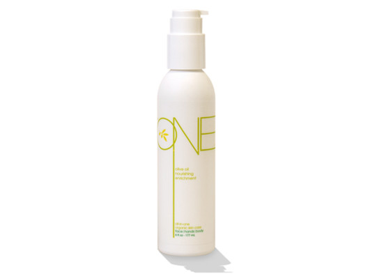 Nourishing Olive Oil Lotion by O.N.E. Skincare from Melissa Meyers