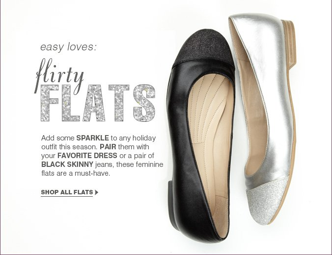 Click here to shop flats