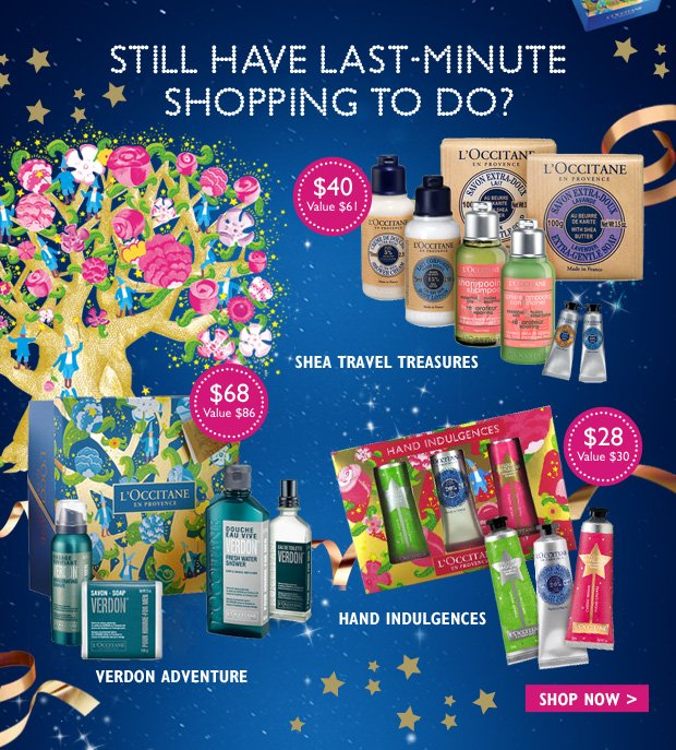 Still Have Last-Minute Shopping To Do ?
