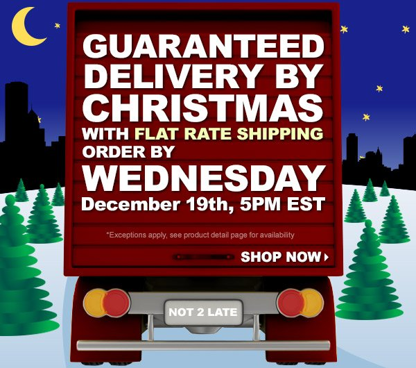 Get by Xmas with flat rate