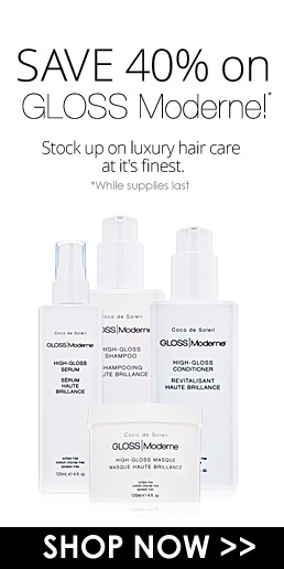 Save 40% on GLOSS Moderne! Stock up on luxury hair care at it's finest while supplies last. Shop Now>>
