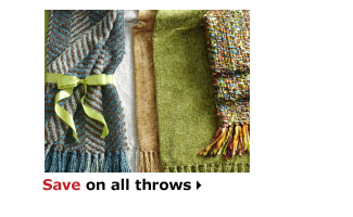 Save on all throws