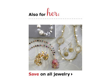 Save on all jewelry