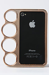 The Brass Knuckle Iphone 4 Case