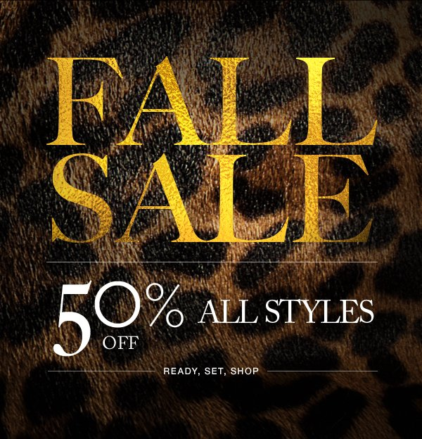 Fall Sale | 50% Off