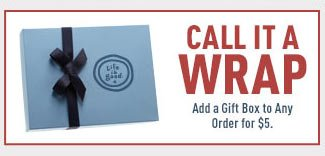 Add Gift Wrap to Your Order for $5